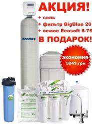 АКЦИЯ! на фильтры комплексной очистки Ecomix