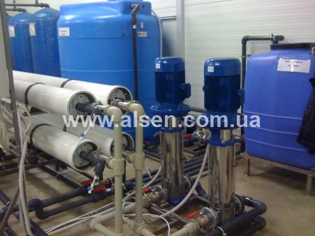 промышленные фильтры воды на производстве
